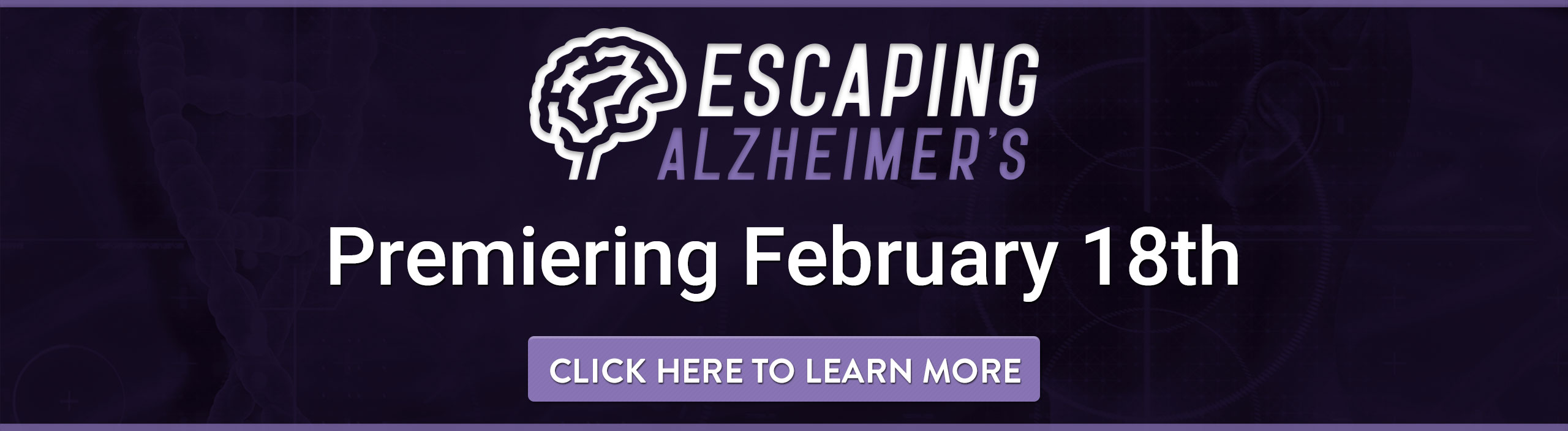Escaping Alzheimer's