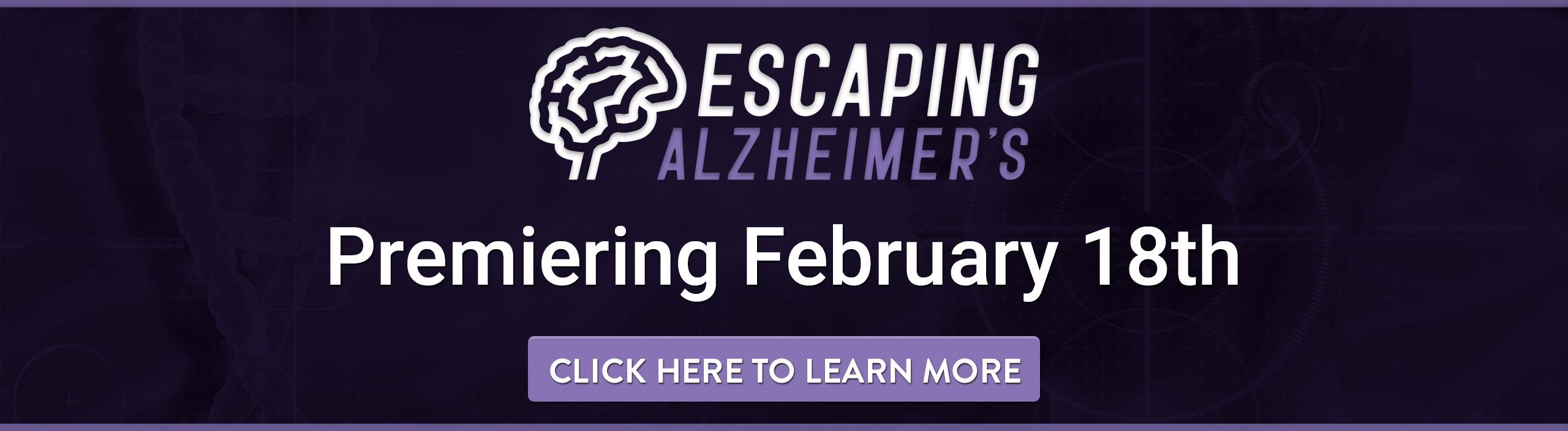 Escaping Alzheimer's